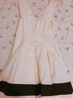 🚚 全新!春夏海軍風條紋小禮服