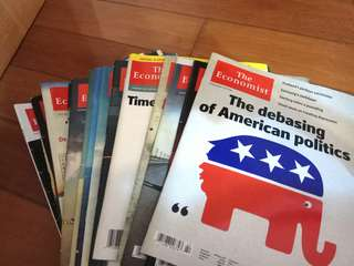 The economist 經濟學人雜誌