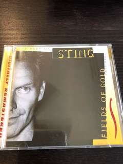 Sting - Fields of Gold. Music CD