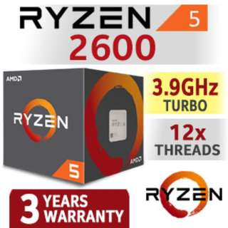 AMD  R5  2600