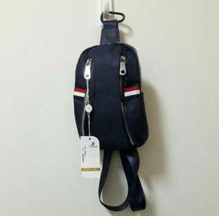 🔥全新 胸包 時尚 (深藍色)單肩包 雙肩包 手拿包 胸包 休閒 百搭 復古 古著 vintage nike adidas