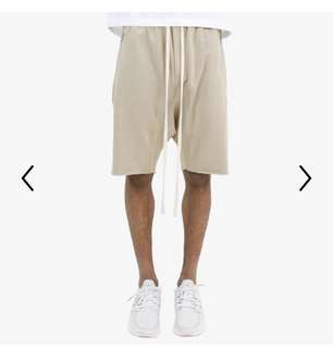 mnml shorts tan 短褲 沙色 平民fog fear of god