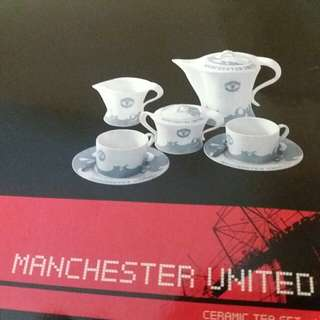 MANCHESTER UNITED CERAMIC TEA SET  曼聯陶瓷茶具套裝