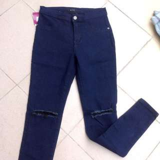 Bnew Ripped Highwaist Jeans