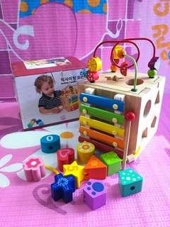 NEW~~~Korean brand Exciting coaster mini toy box 韓國多功能學習遊戲盒  kids toy / 兒童玩具