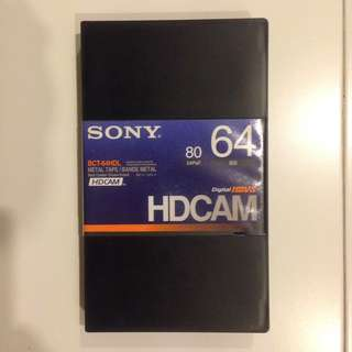 SONY HDCAM Tape (BCT-64HDL)