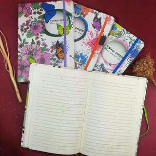 Buku diary note books fancy
