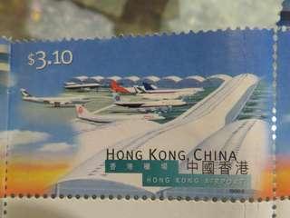 香港機場郵票