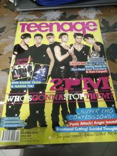 Teenage Magazine(poster inside)