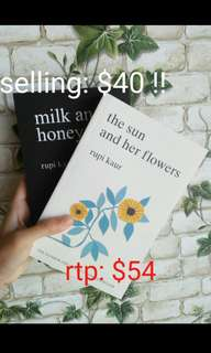 🚚 🔥 NOW $38 | MILK AND HONEY & THE SUN AND HER FLOWERS | Rupi Kaur