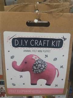 DIY材料包 布絨 公仔 動物 企鵝 禮物