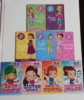 Preloved Go Girl Series Books
