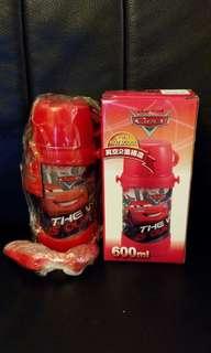日本購回 兒童 不鏽鋼 水壺  Cars 直飲水壺