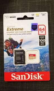 Memory Sandisk 64GB
