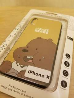 We Bare Bears IPhone X Case 電話殼