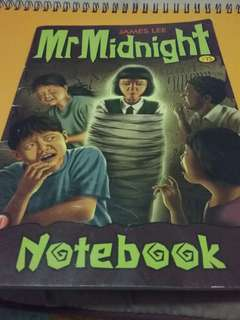 Mr midnight notebook