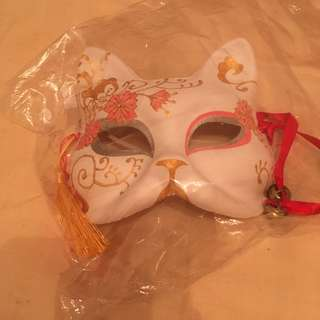 Japanese style cat masquerade mask party mask