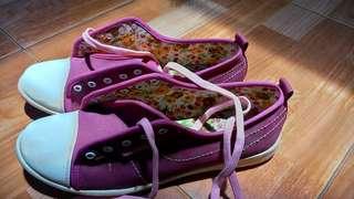 Sepatu ardiles warna fuschia
