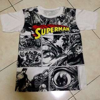 Superman Comic Shirt