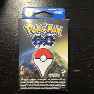 Pokemon go plus with wristband