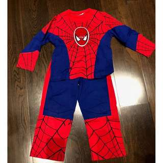 Spiderman Toddler Pyjamas with LED light