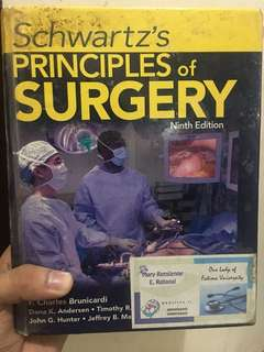 Schwartz Principles of Surgery Ninth Edition