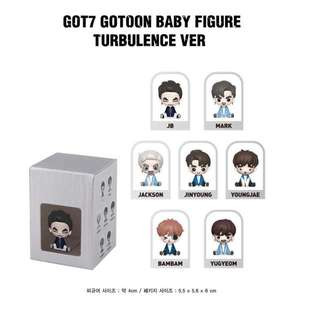 Got7 Gotoon Baby Figure Turbulence Preorder