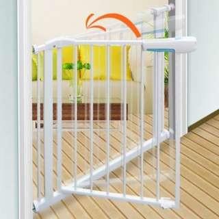 100% Orignal Authentic ChildStar★75cm/100cm Height Safety Gate*up to 300+cm* Pets/Kids*Door Fence