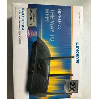 Linksys AC1900+MU-MIMO GIGABIT ROUTER