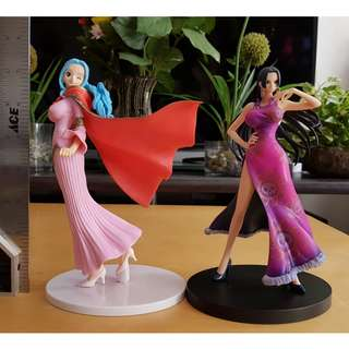 Boa Honcock and Vivi One Piece Big Figure 2pcs