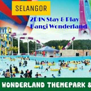 2D1N Stay & Play Bangi Wonderland Themeparks 4⭐ Hotel