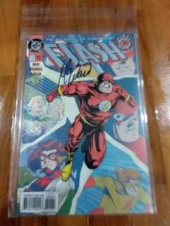 DC - Flash # 0 ( zero hour) Signed by Mark Waid 👈