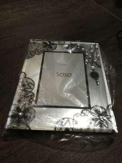 莎莎玻璃面水滴相架 2R sasa