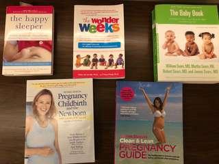 Pregnancy and New born books