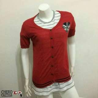 Colorata cardigan short sleeve baju