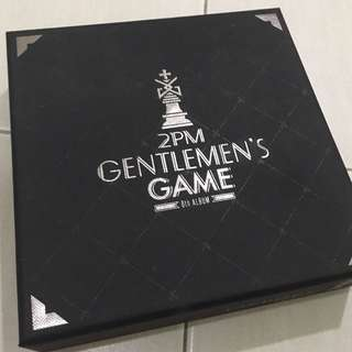 2PM 6th album Gentleman's Game normal edition