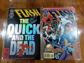 DC - Flash #100 (Signed by Mark Waid)👍