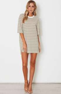 White Fox Boutique t shirt dress