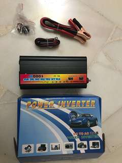 Pure sine wave inverter for car and solar panel