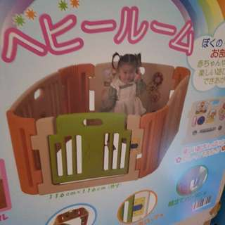 (moving out sale) 8 panel haenim play yard from korea