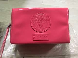 Versace cosmetic Pouch- Big size (Pink colour)