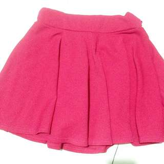 ✨ Pink Skater Skirt with Shorts