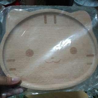 🚚 QQ貓 造型木盤