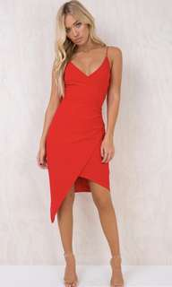 Princess Polly red dress