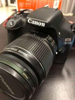 Canon EOS 550D & Sigma Lens