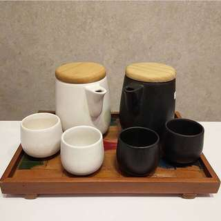 New white tea set