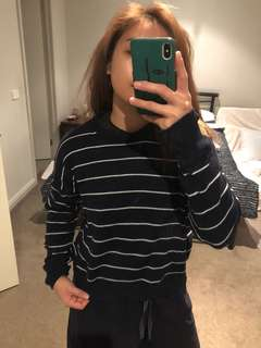 Brandy Melville knit stripe jumper