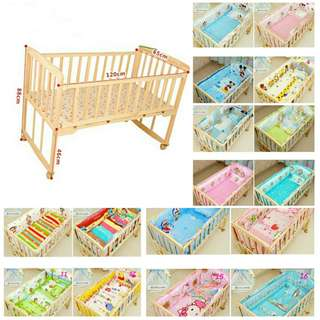 Baby cot / baby side bed big size 120cm
