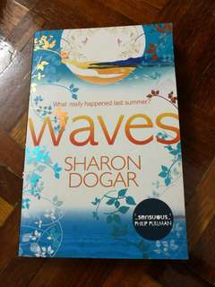 Waves by Sharon Dogar #20under