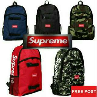 Supreme Unisex's Backpack